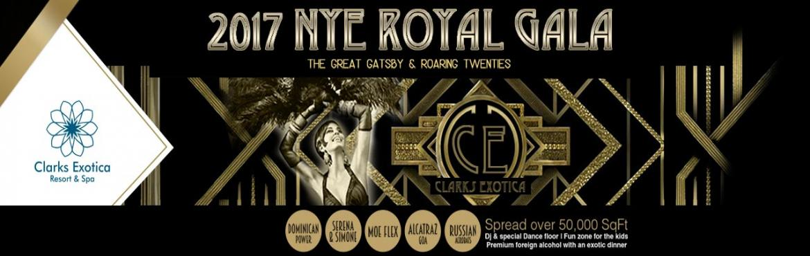 Come and celebrate with us the first ever Clarks Exotica 2017 NYE Royal Gala Dinner on 31st December,luxury dinner as well as Foreign Liquor make this