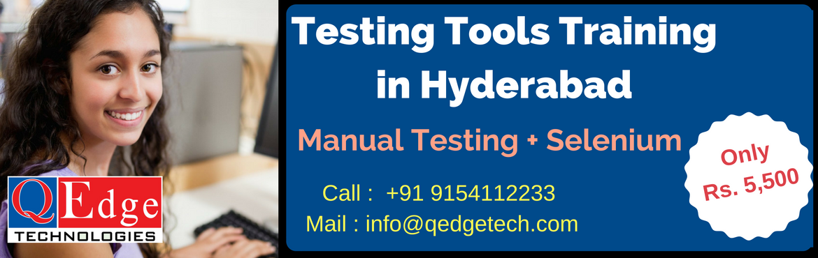 Testing Tools Training in Hyderabad