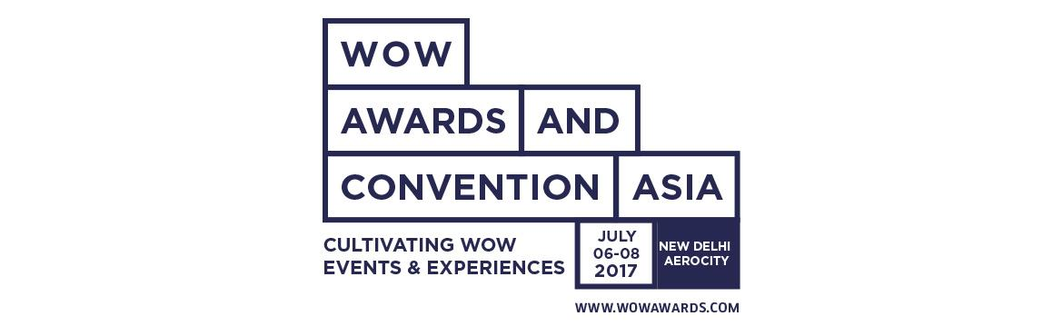 WOW Awards And Convention Asia 2017 Registration