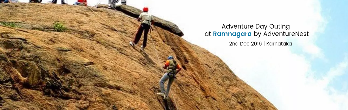 Book Online Tickets for Adventure Day Outing at Ramnagara by Adv, Ramanagara. Adventure Nest Organizing Adventure Day Outingat Ramanagra on 2nd December 2016, Hurry! Limited sheets Only Ramanagarais sited in the valley surrounded by rocky hills in the outskirts of Bangalore. Ramnagar is also known as land of seven