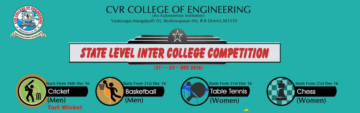 STATE LEVEL INTER COLLEGE COMPETITION