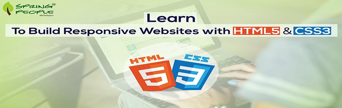 Book Online Tickets for HTML5  CSS3 Training , Bengaluru. Learn about HTML5 & how to implement the newest CSS3 Techniques in their Web applications. Enroll Now:https://goo.gl/wNs3qo