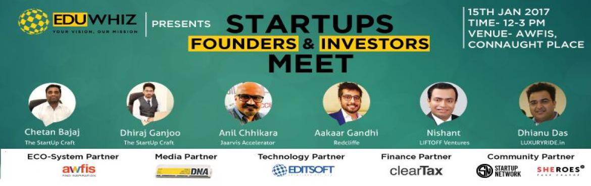 Startups Meet - Founders and Investors