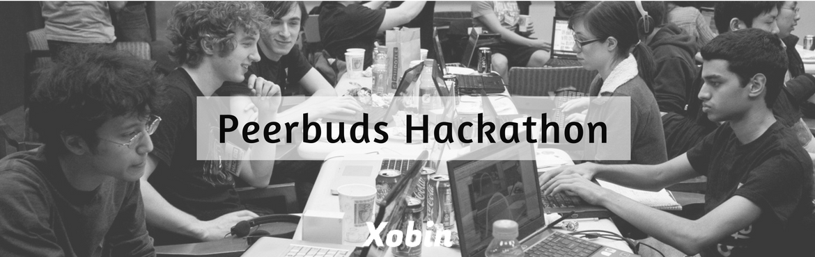 Book Online Tickets for Xobin Peerbuds Hackathon, Bengaluru. Hola Developers ! Peerbuds is on a Mission to provide like-minded individuals with a collaborative environment to teach, learn, and share skills and ideas.Peerbuds is looking to hire Developers . So get your gloves off and get Hired by doing what you