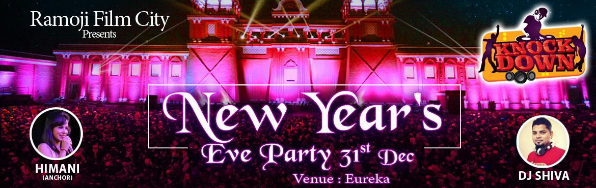 Book Online Tickets for New Years Eve 2017 - Knock Down Party at, Ramoji Fil. Experience the most enthralling evening with splendid entertainment of scintillating musical fiesta, Bollywood theme dance, international dance along with the pulsating beats of rocking DJ.   Artist Info and Event Highlights:-   Himani S