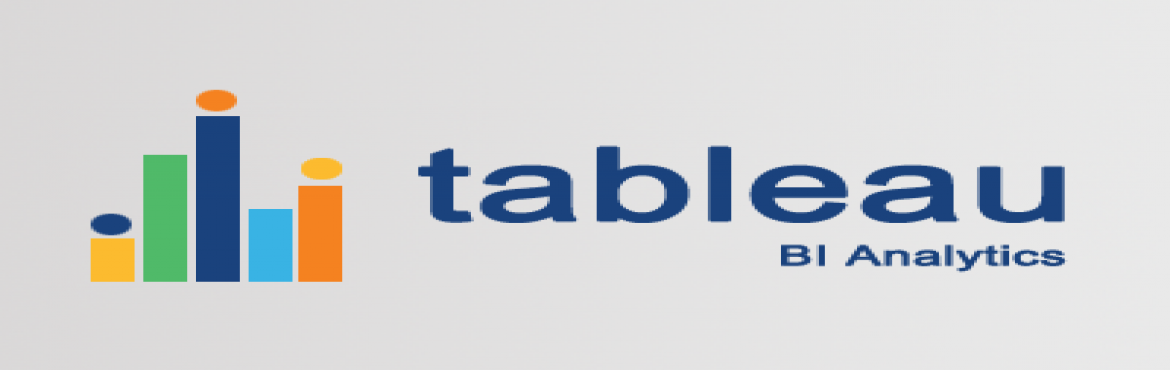 Book Online Tickets for Best Online Learning Center For Tableau , Hyderabad.                                                                       &nbsp