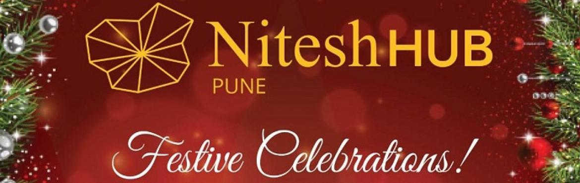 Book Online Tickets for Christmas festivities at Nitesh HUB, Pune. Saturday, 10th December  A musical live performance by band HRIDMA I 5:30 PM – 7:30 PM   Sunday, 11th December  Christmas Tree Lighting Ceremony I 5.30 PM -  7.00 PM Live performance, Christmas Sweets & Savories and Gifts by SANTA