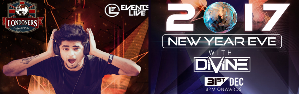 Book Online Tickets for NYE 2017 Eve with DJ Divine, NewDelhi. Intro A 20 year old till date has a keen interest in music since he was 11 year old, First into the trance anthems and vocal breaks then in the progressive drops. When he was 17, he got into Disc jockey\'s & impressed everyone with his knowledge