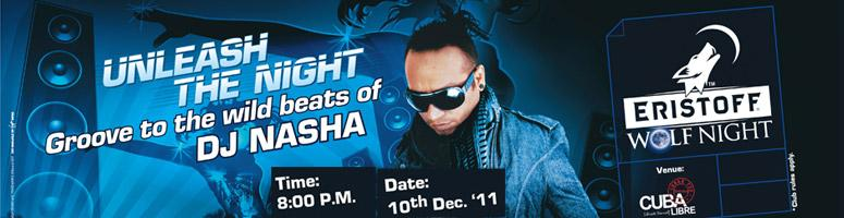 Book Online Tickets for DJ Nasha @ Cuba Libre-HYD, Hyderabad. Get ready to groove to the exclusive beats of world renowed Indian DJ NASHAwho will be rocking the scene @ Cuba Libre on 10th Dec 2011. For those who do not know who DJ NASHA is, here's a quick peek at who he is. DJ Nasha is the icon of