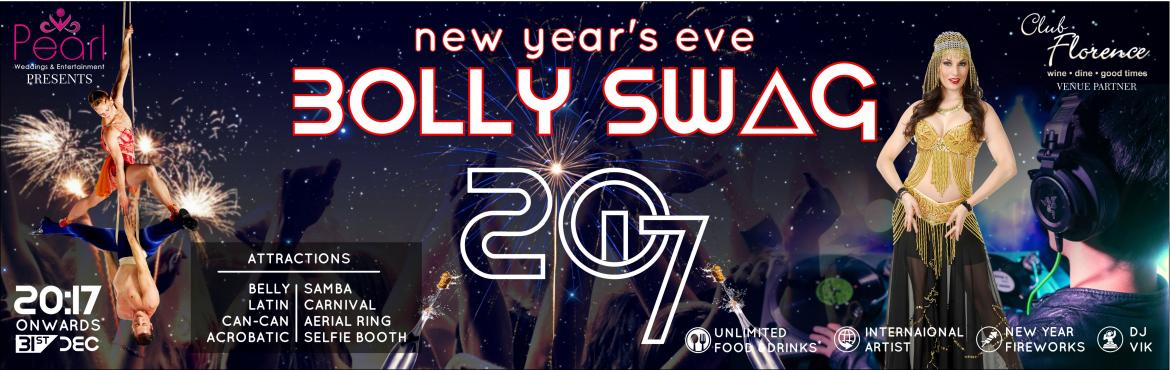 "Book Online Tickets for Bolly Swag 2017, Gurugram. Biggest New Year Eve Bash of Gurugram! After the huge success of biggest Dandiya & Holi event (''Bollywood Dandiya Raas at KOD (2013-16) & Holi Bolly 2016 "") in Delhi-NCR by Pearl Weddings & Entertainment, now we are com"