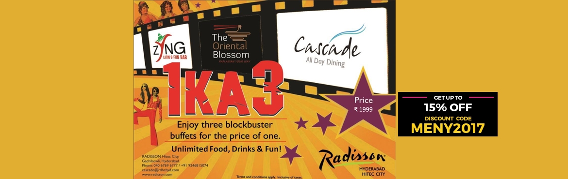 Book Online Tickets for Flashback Bollywood Eve NYE 2017 at Casc, Hyderabad. Cascade, The Oriental Blossom and Zyng come together for a fun ride down the evergreen Bollywood lane. With a Live Band belting out your favourite tracks, a dance floor to get your retro groove going clubbed with an elaborate All-You-Can-Eat buffet a
