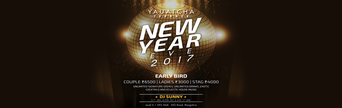 Book Online Tickets for A TIME TO CELEBRATE NYE 2016 @Yauatcha T, Bengaluru. \