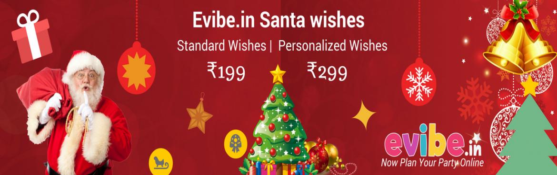 Evibe.in Santa Wishes