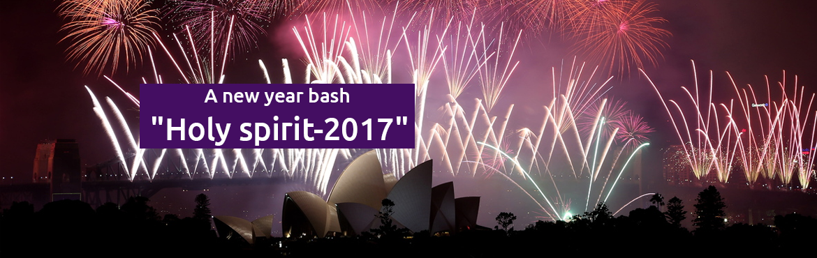 Book Online Tickets for Holy Spirit - 2017, Pushkar. A new year bash \