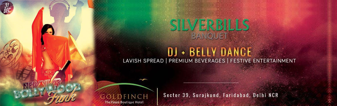 Book Online Tickets for New Years Bollywood Funk - SilverBills, Faridabad. Silver Bills Theme : NEW YEAR GALA DINNER Time : Dinner 8:00 pm – 12:00 midnight Decoration: Grand Gala dinner with Bollywood & Hollywood  theme. Table centerpiece: Small flower decoration with candle. New Year decorations on the table