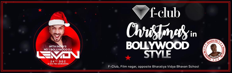 F Club Christmas in Bollywood Style