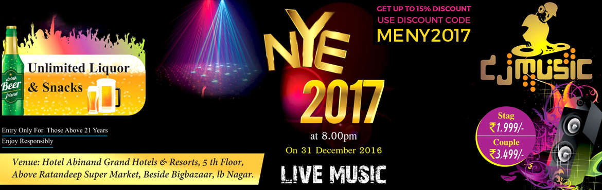 NEW YEAR PARTY @ NAGOLE