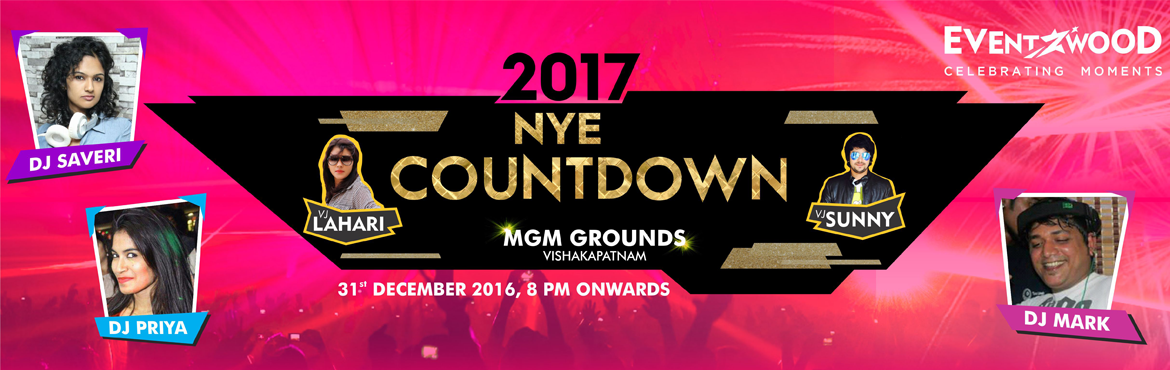 NYE 17 Countdown at MGM Grounds