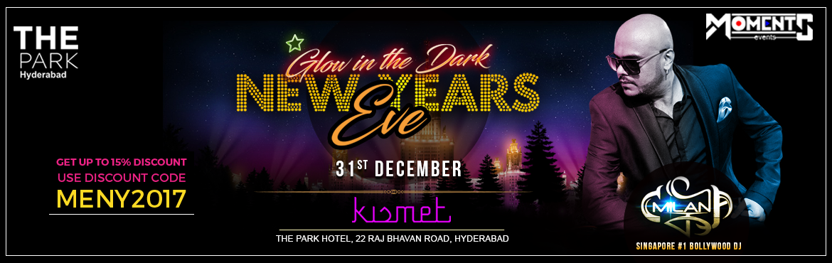 Book Online Tickets for New Years Eve - Glow in the Dark At Kism, Hyderabad. Attractions:  DJ MILAN # Singapore No 1 DJ # Bollywood DJ   Event Highlights:  Neon Theme Party International performers Special effects Unlimited IMFL Drinks Unlimited Starters( 4 veg and 4 non veg)