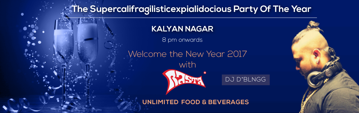 Book Online Tickets for The Supercalifragilisticexpialidocious P, Kalyan Nag. Genre: Dance/Party/EDM/Reggae Cast and Crew (performing artist info) Bio- DJ D*BLING : He is a DJ and a Rapper, mostly known for his hip DJ performances that includes turntablism, scratching, beat juggling, etc and freestyle rapping. Organizer'