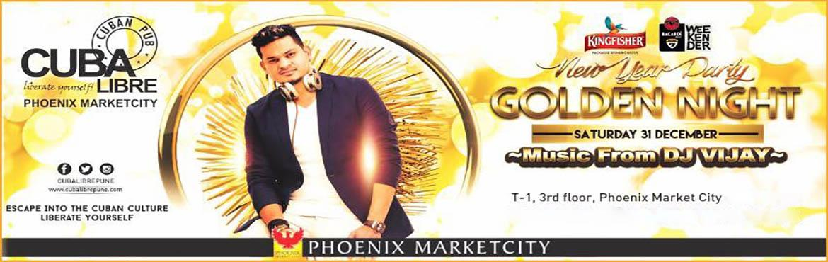Golden Night New Year Party @ Cuba Libre
