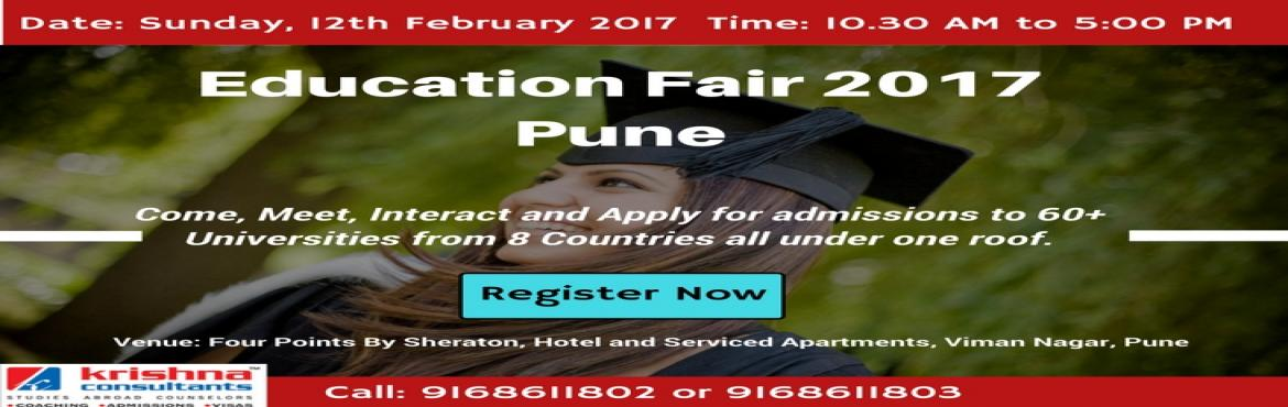 Overseas Education Fair 2017 in Pune - To be conducted by Krishna Consultants