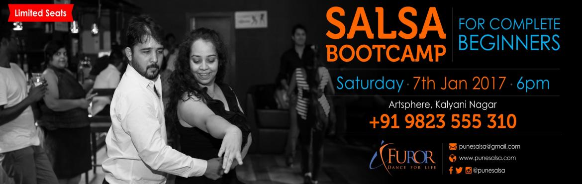 Book Online Tickets for SALSA Bootcamp For  BEGINNERS BY FUROR_7, Pune. Start your New Year with Salsa and have one thing ticked off from your To do List... We did!!! :D Our specially designed Salsa Bootcamp is THE MOST fun packed, fast and effecient way to start dancing salsa .....   -------------------------------