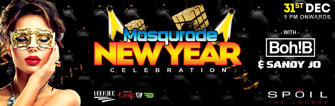 Book Online Tickets for Masqurade NYE 17 Celebration at Spoil Hy, Hyderabad. ✦ MAGICAL NEW YEAR CELEBRATION ✦We\'re bringing you the biggest,baddest and Craziest New Year Celebration. Hyderabad join the league and get on to be the noise makers of the Night at  NYE at Spoil Hyderabad. Artist Info/Attractions:  DJ