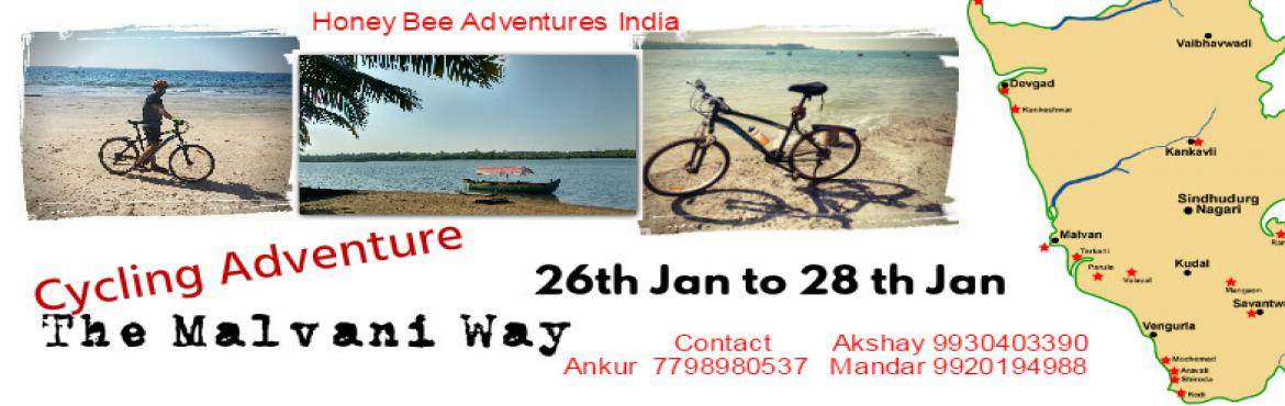 Cycling Adventure. The Malvani way ( honey Bee adventure india)