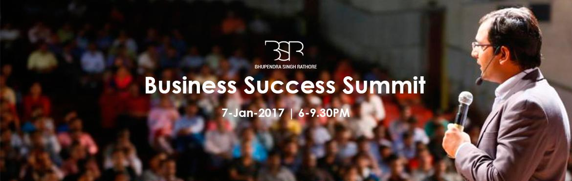 Business Success Summit By BSR