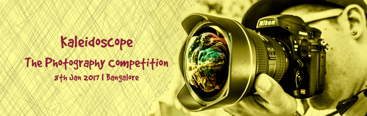 Book Online Tickets for Kaleidoscope - The Photography Competiti, Bengaluru. If the camera is your window to the world and photographs your way of turning the mundane into the esoteric, and elevating the commonplace to something magical, then we welcome you to Kaleidoscope, a competition that gives wings to your ima