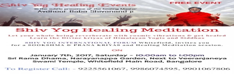 Shivyog Healing Meditation - Bengaluru | MeraEvents com