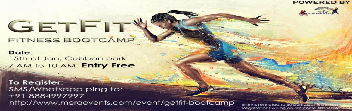 Book Online Tickets for GetFit Fitness Bootcamp, Bengaluru. How would it sound if we said we can change the process of getting fit into FUN? Would be exciting, right? Yes, BookMyFun is bringing to you a unique way of getting fitter and better, all of these through exciting games and challenges with a group of