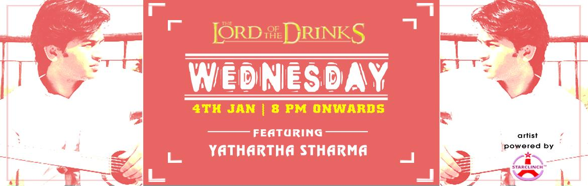 Yathartha Sharma Awesome Singer Live at Lord of the Drinks - A StarClinch Artist