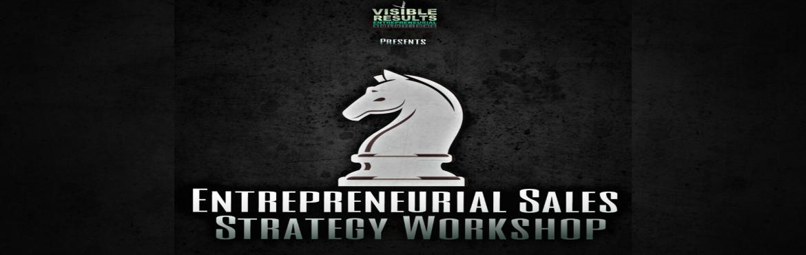 Book Online Tickets for Entrepreneurial Sales Strategy Workshop, Pune. As a True Entrepreneur one is always expected to be a 'Jack of all Trades', in addition to being a 'Master of One'. Usually the mastery is already expressed and established in the form of a product or a service developed by th
