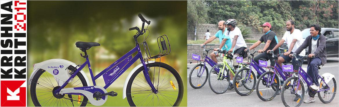 Book Online Tickets for Selfie Treasure Hunt with Redibike, Hyderabad. Take the perfect selfie and win exciting prizes at Krishnakriti Festival of Art and Culture 2017 with Dr. Reddy\'s Redibike - a healthier and an environmentally-conscious option to commute within the city. Decode clues and cycle to specific destinati
