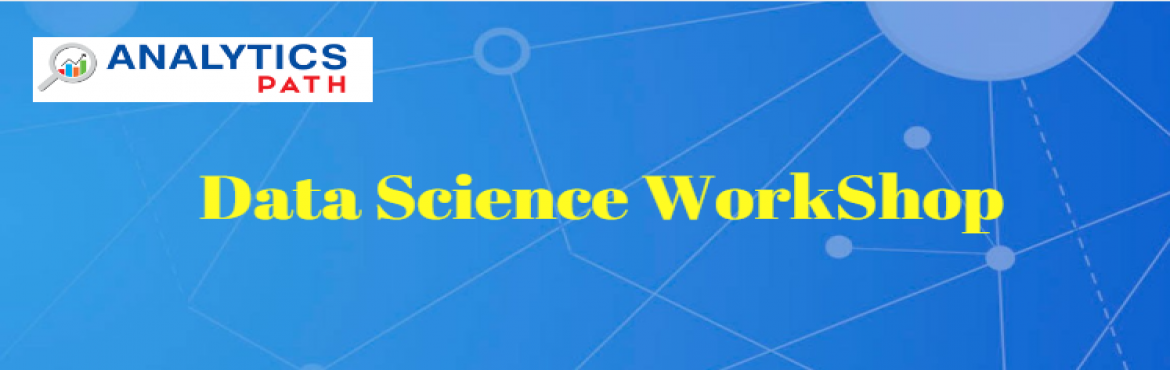 Book Online Tickets for Free Data Science Workshop on 7th Jan 20, Hyderabad. Aspirants who want to build a career in Data science, here is the wonderful chance to have bright future graph by attending Free Data Science Workshop on 7th Jan 2017 in Hi-Tech City, Madhapur Hyderabad. Overview of Data Science Workshop  Analytics P