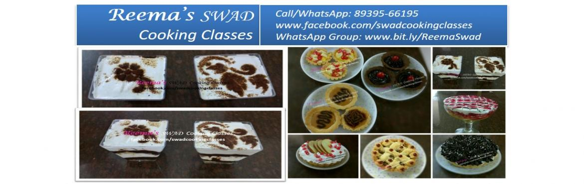 Book Online Tickets for International Desserts Cooking Workshop, Chennai. Reema\'s Swad Cooking Classes schedules International Desserts Workshop 〰〰〰〰〰〰〰〰 ♦Date: 25-Jan Timing 11-5 PM (Lunch will be provided)  This class includes 20 practicals + Extra recipes  PIE: ♦Apple Cinnamon pie ♦Cho