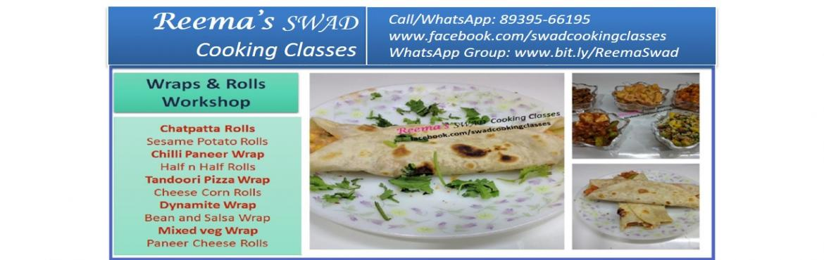 Wraps and Rolls Cooking Workshop