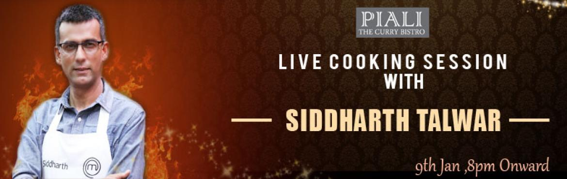 Live cooking session at PIALI The Curry Bistro on 9th of January