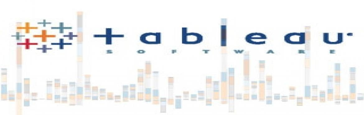 Book Online Tickets for Tableau Training, Hyderabad. For more details contact us at +91-720-720-9005 ( Whats app ) or www.dwbiadda.com  Introduction and Overview   Why Tableau? Why Visualization? Level Setting Terminology Getting Started creating some powerful visualizations quickly T
