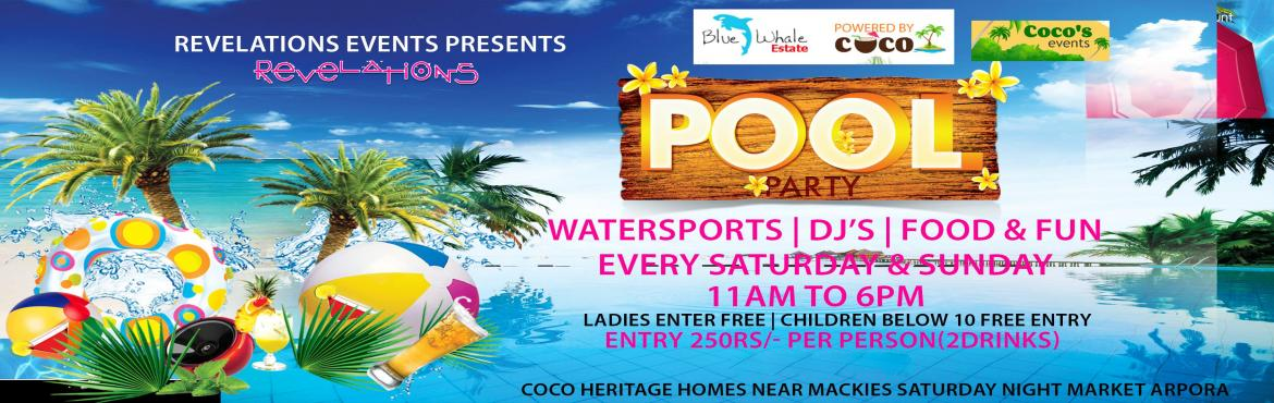 POOL PARTY  AT BLUE WHALE WATER PARK