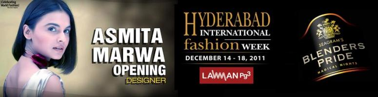 Book Online Tickets for HYDERABAD INTERNATIONAL FASHION WEEK at , Hyderabad. The 1st annual Blenders Pride Hyderabad International Fashion Week (BP HIFW) will take place between Thursday 15th - Sunday 18th December, 2011 at the luxurious 5 star hotel \\\