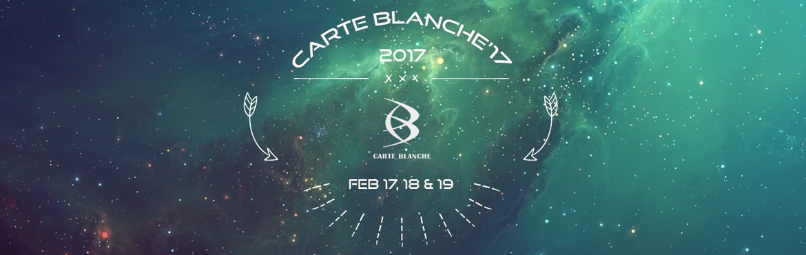 CARTE BLANCHE 17 EVENT REGISTRATION