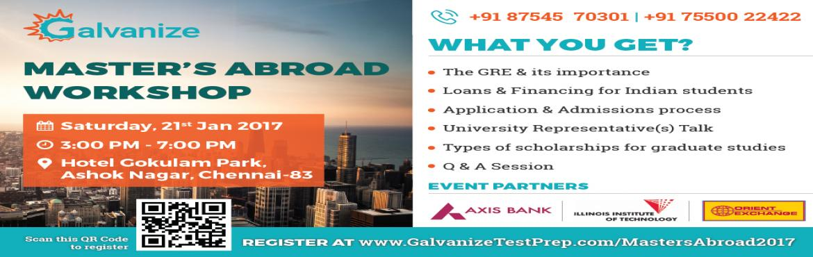 MASTERS ABROAD WORKSHOP Galvanize Test Prep