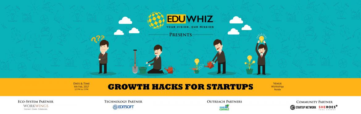 Book Online Tickets for Growth Hacks For Startups, Noida. Starting your own venture is like entering a field of wolves. Only expert mentorship, guidance and feedback at each step can take you through.Understand the aspects of Entrepreneurship. Book your seats at https://imjo.in/cnht9Q.Date- 4th Feb, 20