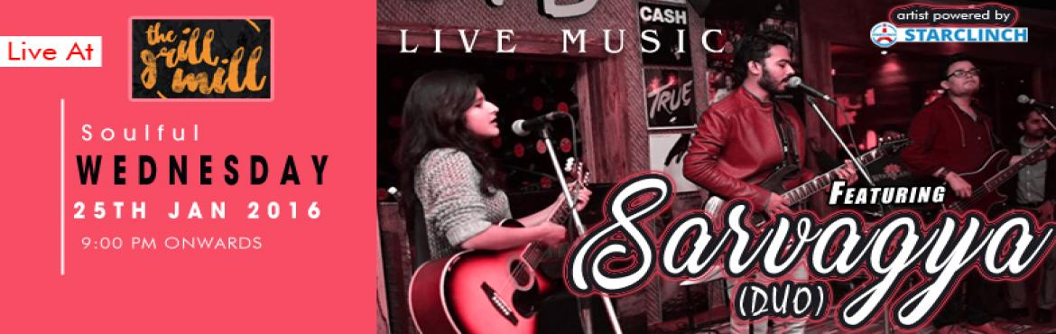 Book Online Tickets for Sarvagya Acoustic Duo Live Band Performi, NewDelhi. Sarvagya is a five-piece LIVE band based out of the capital city of India, New Delhi. They mainly play commercial, Sufi, Bollywood, and rock music. The band has been performin