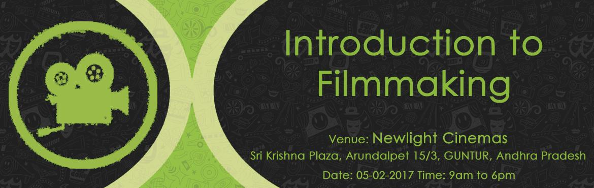Book Online Tickets for Introduction To Film Making, Guntur. In this era of video storytelling, it is essential for everyone to equip with the skills of basic filmmaking. To fill that gap, we are conducting this workshop. With over teaching experience of over 10 years in reputed institutions like Annapurna Fil