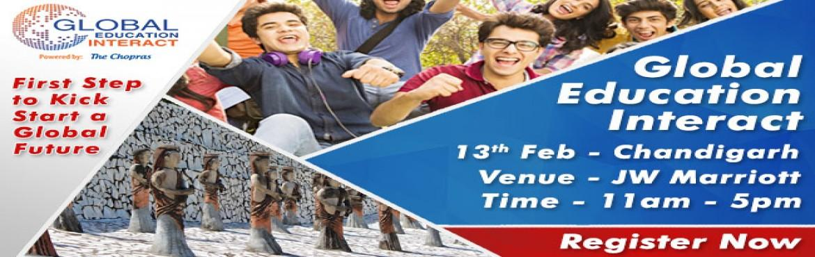 Book Online Tickets for Global Education Fair 2017 in Chandigarh, Chandigarh. 60 Universities, 9 Countries, 10 Cities of India, Admissions & Assessments for 2017 Intake India's largest Global Education Fair 2017 is coming in Chandigarh. In order to stand true to the anticipation and expectations of all our overseas e