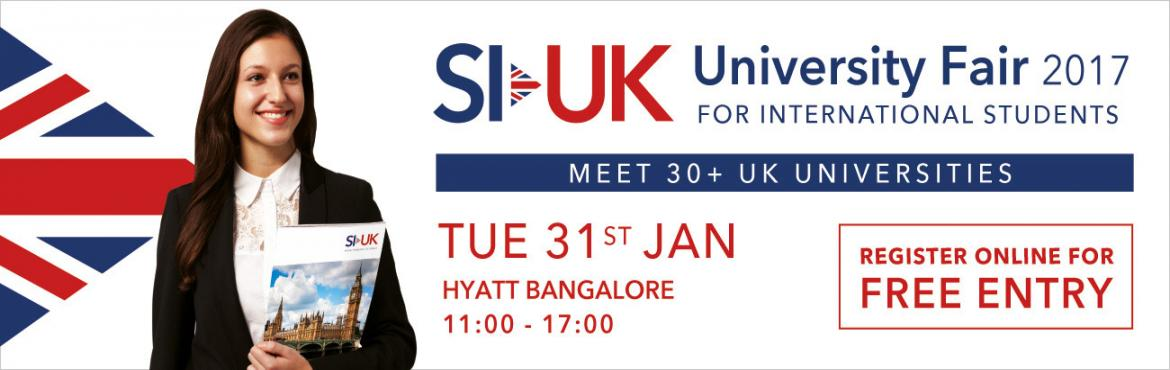 SI-UK University Fair Bangalore